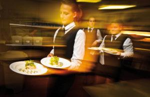 Waitress in Herm