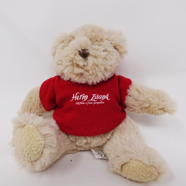 Small Herm Bear Red